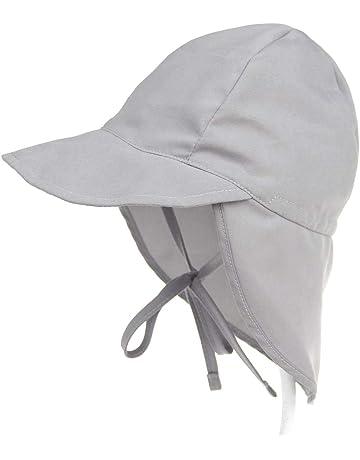 064141442c906 MIMI KING Summer Sun Hat Wide Brim Toddler Girls Boys Beach Sun Protection  Hat with Neck