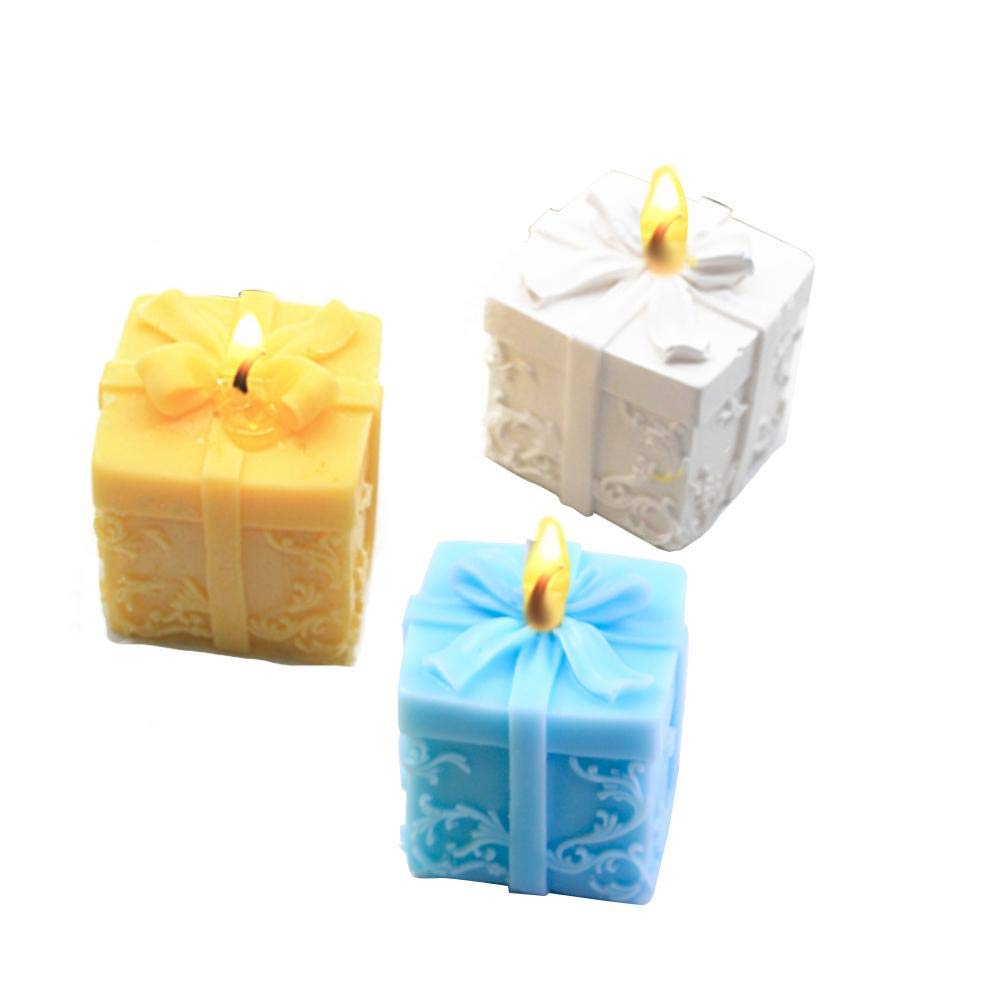 myonly Silicone Christmas Candle Mould DIY Baking Molds Soap Molds Candle Making Supplies Ideal Moulds