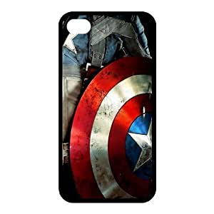 Captain America Custom TPU Case Cover Protective Skin For Iphone 4 4s iphone4s-NY1185