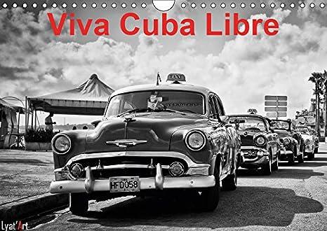 Calendrier Libre Office.Amazon Com Viva Cuba Libre 2019 Calendrier Mensuel De 14
