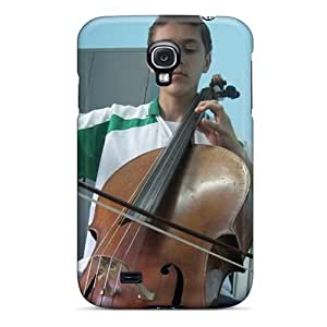 Cute Appearance Cover/tpu Cellist Case For Galaxy S4