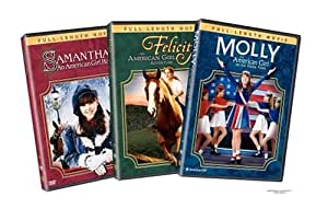 The American Girl Movie Collection (Samantha - An American Girl Holiday / Felicity - An American Girl Adventure / Molly - An American Girl on the Home Front)