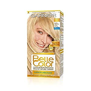 belle color coloring 110 blond very very clear natural unit price sending fast and neat belle color coloration n110 blond tres tres clair naturel - Belle Color Blond Naturel