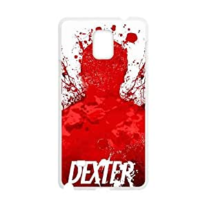 Dexter Blood Samsung Galaxy Note 4 Cell Phone Case White Gift pjz003_3167803