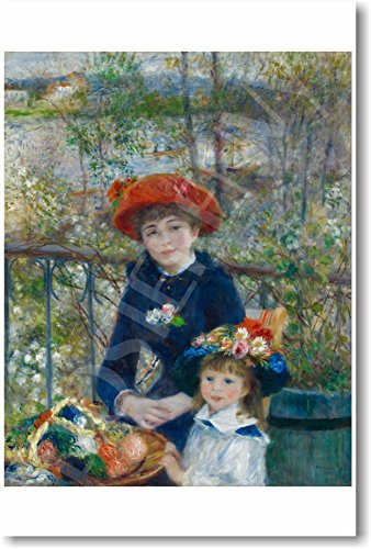 (Pierre Auguste Renoir - Two Sisters on the Terrace 1881 - NEW Fine Arts Poster)