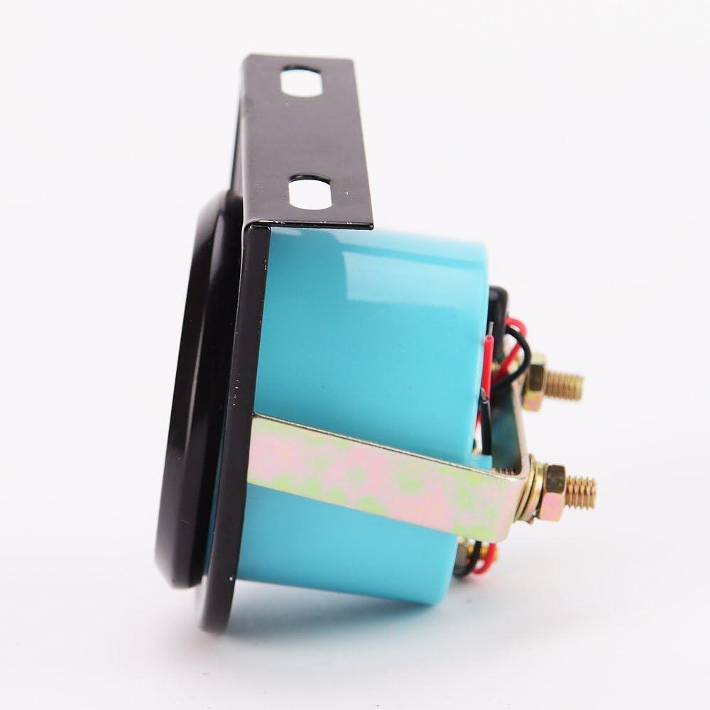 52mm Electric Water Temperature Gauge Universal Digital Water Temp Gauge for 12 Volt Motorcycle Car Vehicles Includes Sensor