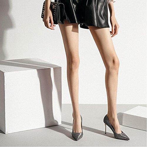 Sunny Rencontres De Party Hauts Femmes Robe Demoiselle pour Talons d'honneur Chaussures Chaussures Or Printemps rq608r