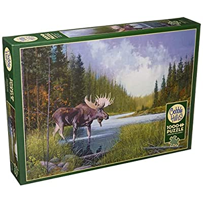 Cobblehill 80133 1000 pc Moose Lake Puzzle, Various: Toys & Games