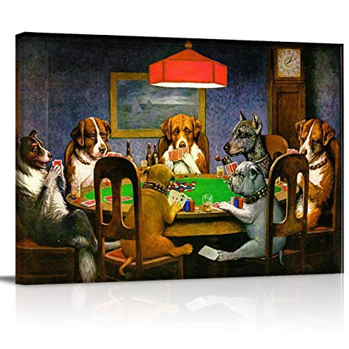 dogs playing cards picture - 3