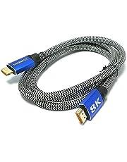 Hiremco 8K Ultra HD 1.5Metre HDMI Kablo