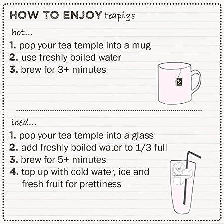 Amazon.com : Teapigs Rooibos Creme Caramel Tea 15 Temples : Grocery & Gourmet Food
