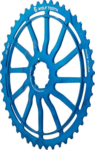Wolf Tooth Components Giant Cog for Shimano 11sp Blue, 45t