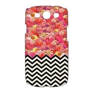 Godstore Custom New Style Colorful Chevron Pattern Cover Hard Plastic SamSung Galaxy S3 I9300/I9308/I939 Case