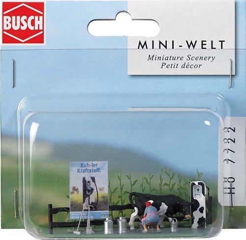 - Busch 7722 Milk Filling Station HO Scenery Scale Model Scenery