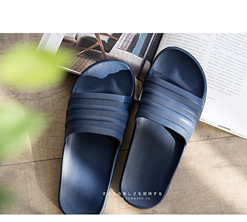 Sandals Slip Men Home Summer Asifn Bedroom Non Slippers Shower Women Indoor Blue Swimming nPxxFHCqO