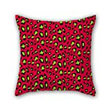 PILLO geometry pillowcover 18 x 18 inches / 45 by 45 cm best choice for valentine,study room,home,him,adults,bar seat with two sides