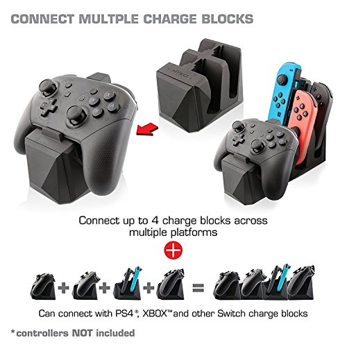 Nyko Charge Block Pro for Nintendo Switch - Nintendo Switch;