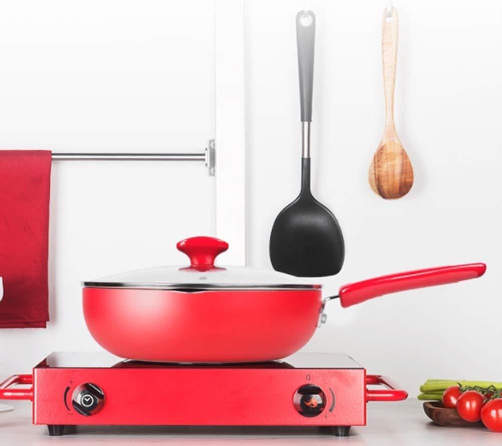 WYQSZ Wok - Non-stick cooker non-stick wok flat bottom non-stick wok kitchen cooking multi-function wok -fry pan 2365 (Capacity : B) by WYQSZ (Image #3)