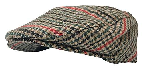 2daf1dd18ff Sock Snob Mens Vintage Tartan Warm 1920s Formal Wool Blend Farmer Ivy Flat Cap  Hat (