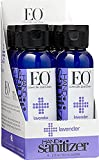EO Botanical Hand Sanitizer Gel, Lavender, 2 Ounce (Pack of 6)