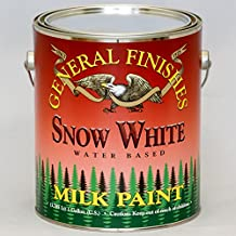General Finishes Water Based Milk Paint Snow White Gallon by General Finishes