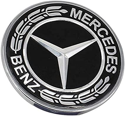 82mm Hood Emblem and 74mm Trunk Emblem and 45mm Steering Wheel Emblem Decal for BMW Decoration Luckily 3 Pieces for BMW Emblems Hood and Trunk
