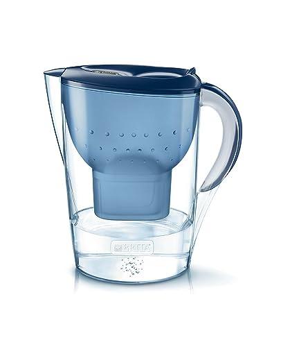 BRITA Marella XL Water Filter Jug and Cartridge+, Blue