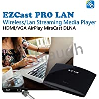 EZCast HDMI VGA TV/Projector Streaming Media Player Wireless/Lan DLNA Miracast Airplay Wireless Display