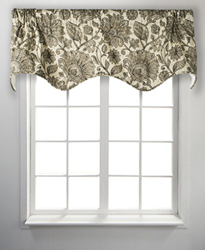 Ellis Curtain Florence Lined Scallop Valance, 50