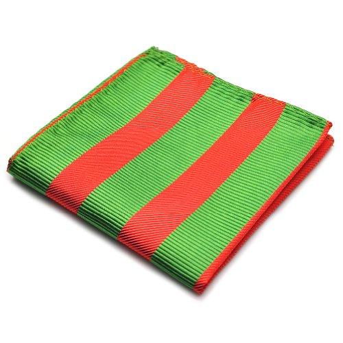 100% Silk Woven Green - 9