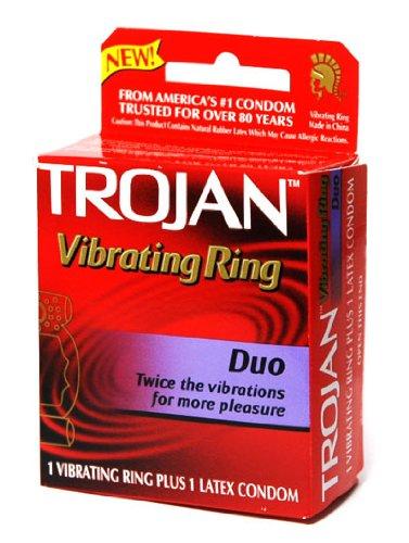 Pleasuring vibrating condom accept