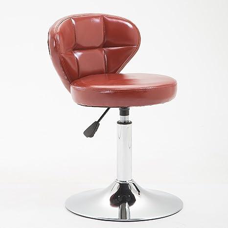 AJZXHE Taburetes de Bar esteticistas peluquerías sillas de ...