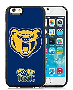 NCAA Big Sky Conference Football Northern Colorado Bears 1 Black iPhone 6 4.7 inch TPU Cellphone Case Luxurious and Fashion Style
