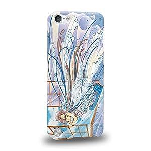 Case88 Premium Designs Chobits Chobits 00 Chi 1464 Carcasa/Funda dura para el Apple iPod Touch 5
