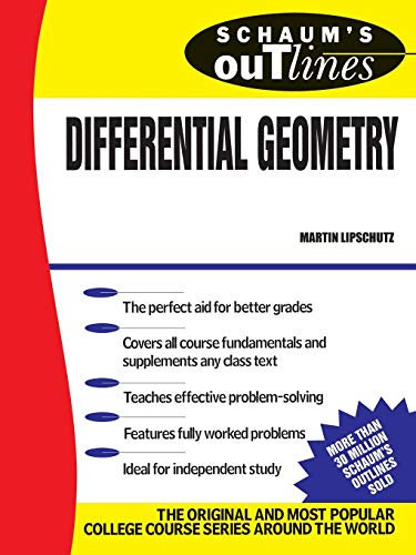 Schaums Outline of Differential Geometry (Schaums)