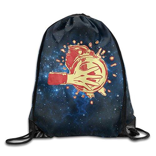 Beam Drawstring Storage Bag Travelling Pie Bundle Canvas Gym Ball Backpack