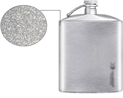 Compra Xu-flask Ligera patrón del Hielo Titanio Puro Petaca ...