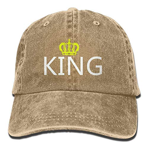 Walnut Baseball Adjustable Caps Mens Casual and Denim Hat Queen Lover Cake King Couple Gorras béisbol frwvROf6q