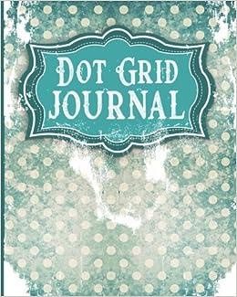 Dot Grid Journal: Bullet Grid Notebook, Dotted Line Paper - Aged