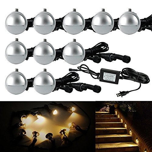 Outdoor Led Deck Lights 10 Pack