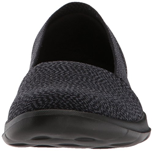 Smitten Skechers Go Lite Enfiler Noir Walk Black Femme Grey Baskets CaSaq