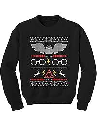Expression Tees Hogwarts Ugly Christmas Holiday Crewneck Sweatshirt