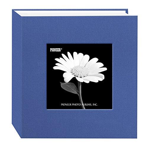 - Pioneer 100 Pocket Fabric Frame Cover Photo Album, Sky Blue