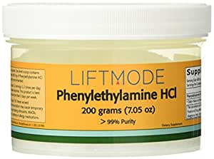 Phenylethylamine HCL (PEA) - 200 Grams (7.05 Oz) - 99+% Pure - FBLM
