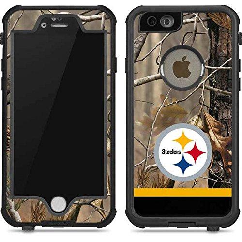 san francisco 355c7 6696a Amazon.com: Pittsburgh Steelers iPhone 6/6s Waterproof Case | Skinit ...