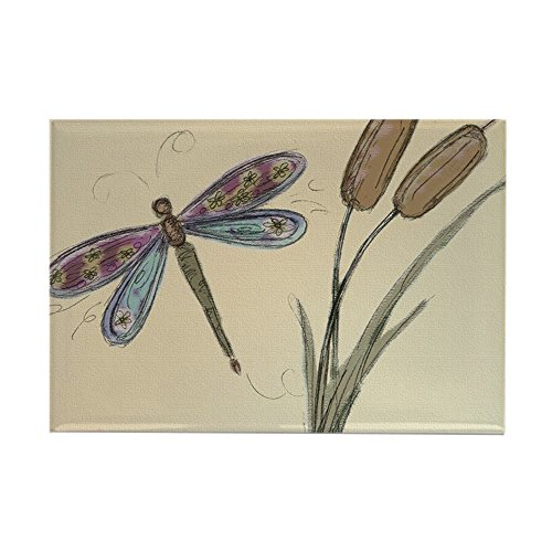 CafePress dragonfly-card2 Magnets Rectangle Magnet, 2