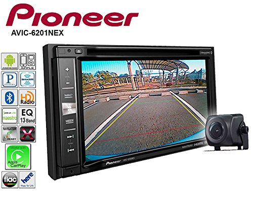 Pioneeer AVIC-6201NEX Double Din Radio Install Kit with GPS Navigation Apple CarPlay Android Auto Fits 2007-2013 Non Amplified Toyota Tundra, 2008-2013 Sequoia (Metallic Gray) by Pioneeer Volunteer Audio (Image #3)