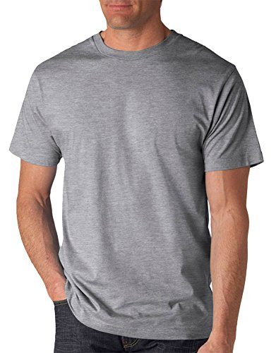 Anvil Adult Lightweight T-Shirt, Hthr Grey, X-Large