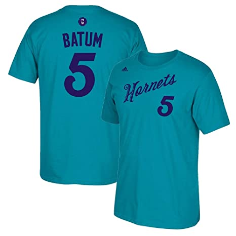 huge discount c2997 65a1c Amazon.com : adidas Nicolas Batum Charlotte Hornets N&N ...