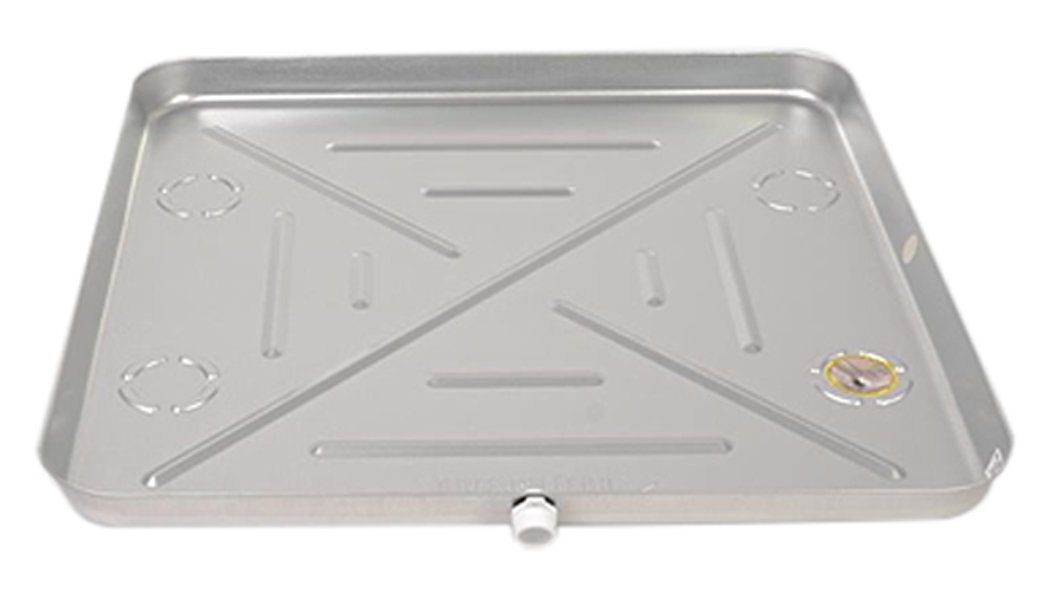 DiversiTech 6-M3030 Drain Pan, Metal, 30'' x 30'', 26 gal